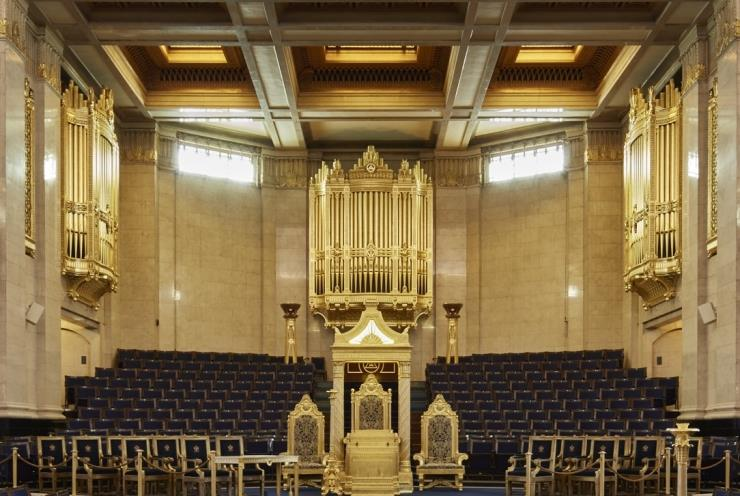 Richard Hill Organ Concert at Freemasons Hall