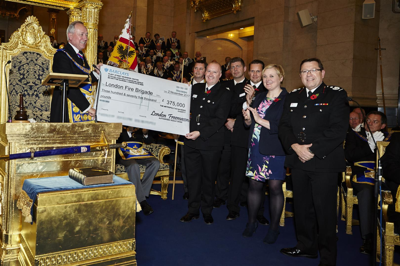 Launch of Fundraising Appeal for London Fire Brigade aerial appliances