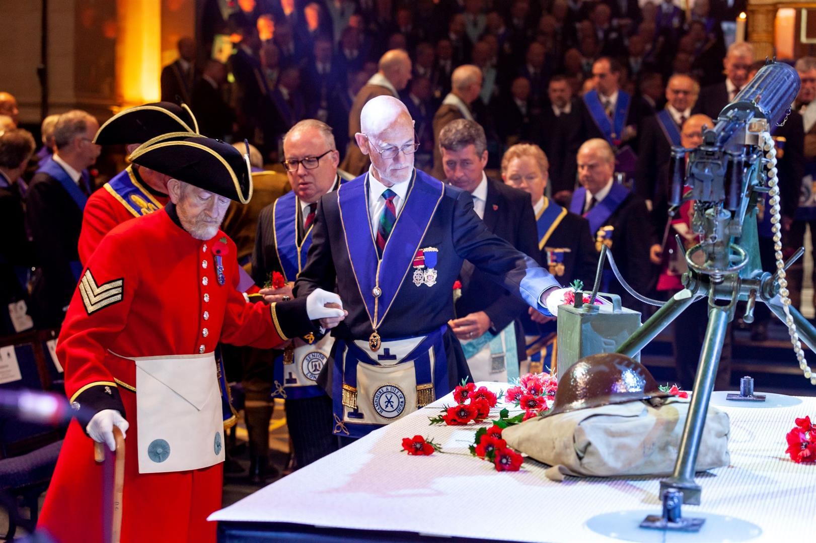 Victoria Rifles Armistice Centenary Meeting