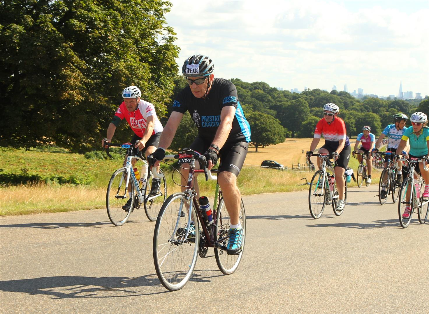 Cycling challenge for Prostate cancer awareness