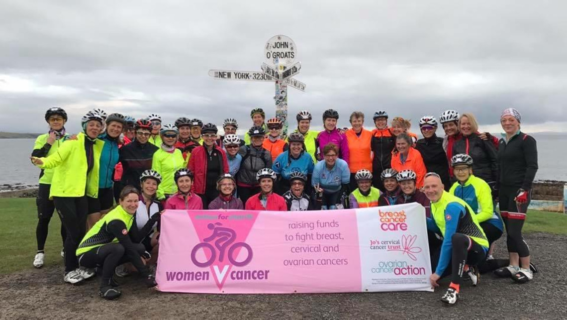 Women v Cancer JOGLE Challenge Huge Success and Raises Money in the process