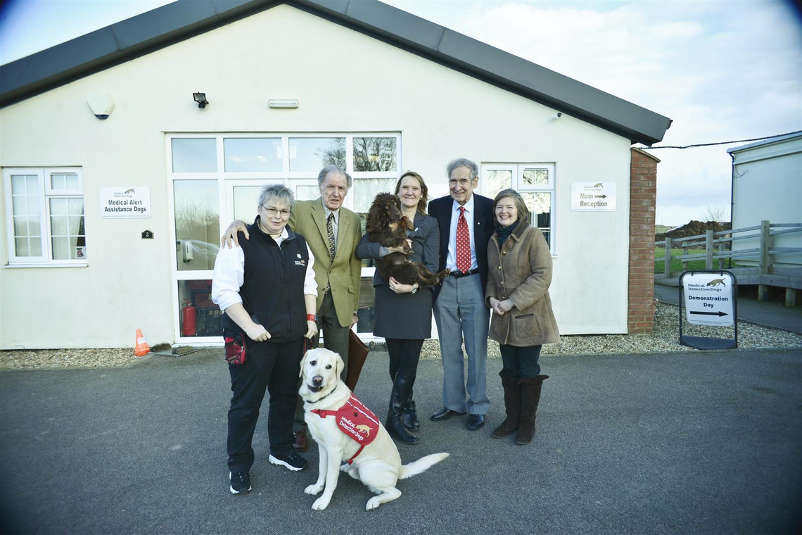 Medical Dogs funded by London Freemasons
