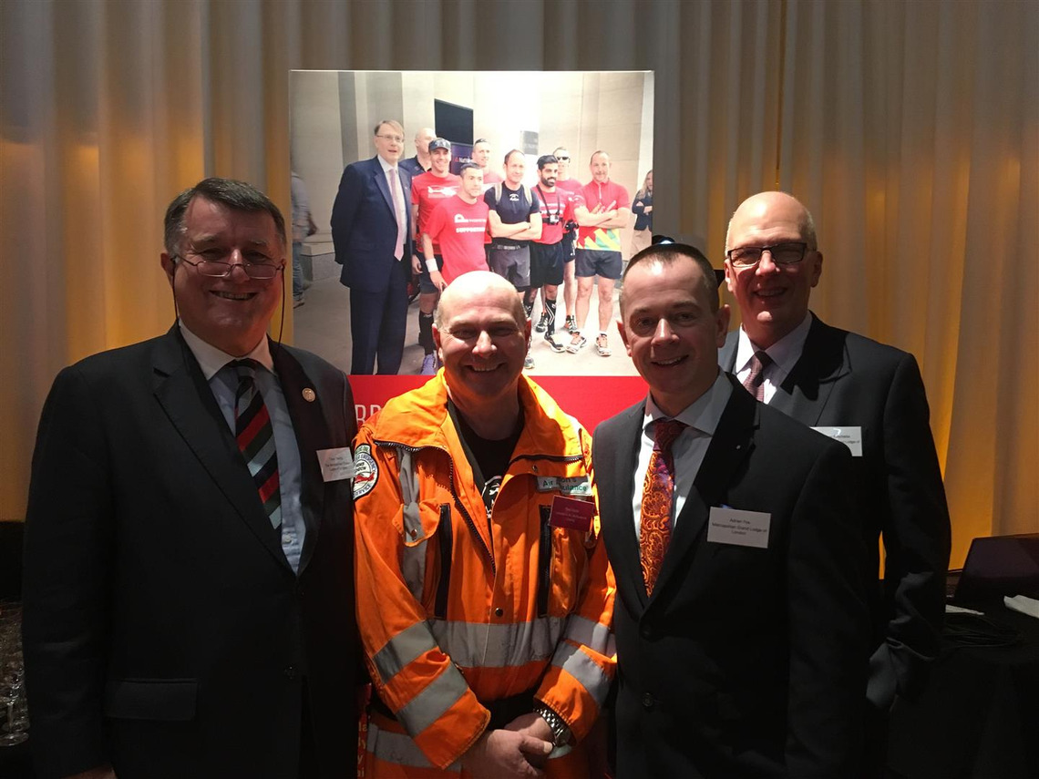Latest grant to London Air Ambulance from London Masons