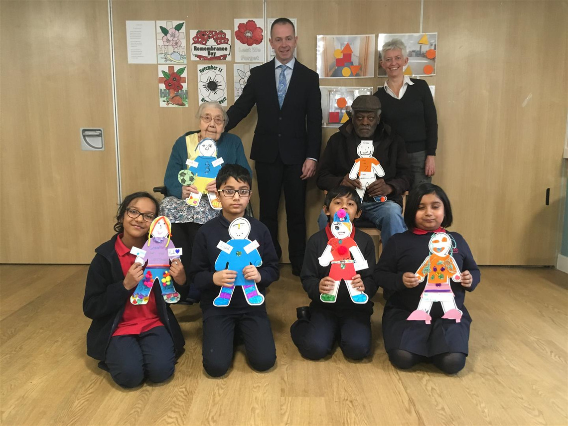 Linking the generations in Tower Hamlets to reduce loneliness thanks to grant from Freemasons