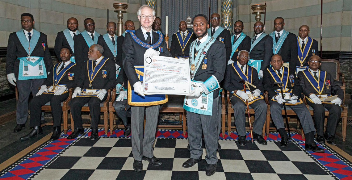 RED TRIANGLE LODGE COMMEMORATES 100 YEARS OF MASONIC AND CHARITABLE SERVICE